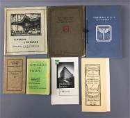 Lot of 7 antique Marshall Fields & co. Books