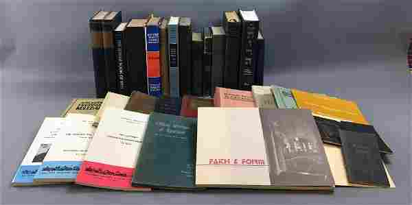 Lot of 31 antique and new Jewish Books