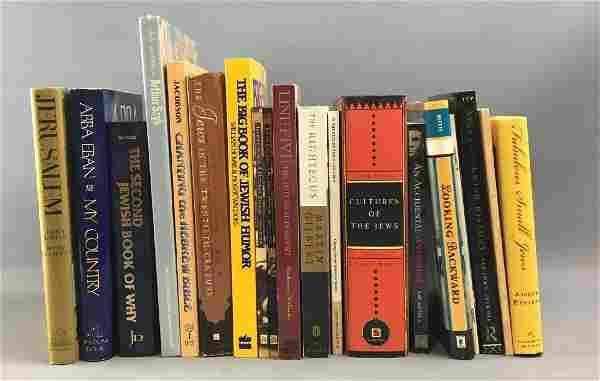 Lot of 19 Jewish books