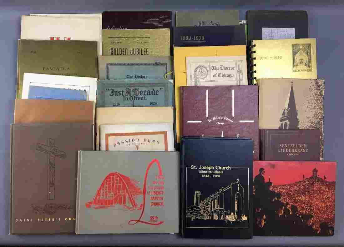 Lot of 28 Church Books