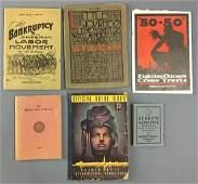 6 Antique Publications Hebrew Almanac Harvard Club of