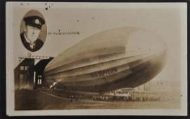 Real Photo Postcard of The Graf Zeppelin