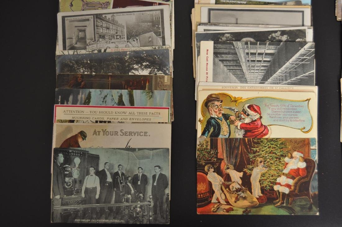 Approximately 105 Death and Injury Related Postcards - 3