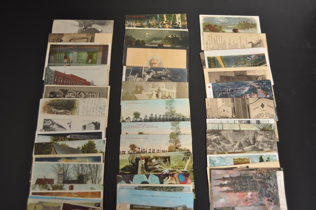 Approximately 105 Death and Injury Related Postcards - 5