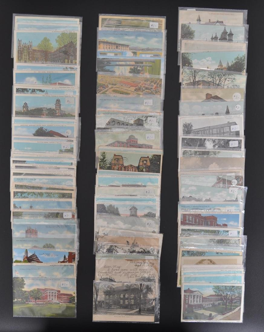 Approximately 94 School Postcards