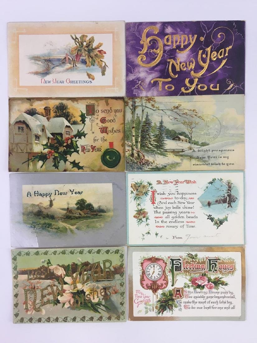 Postcards - Holiday New Years - 4