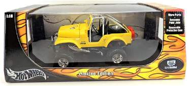 Hot Wheels Limited Edition Jeep CJ-5 Modified.