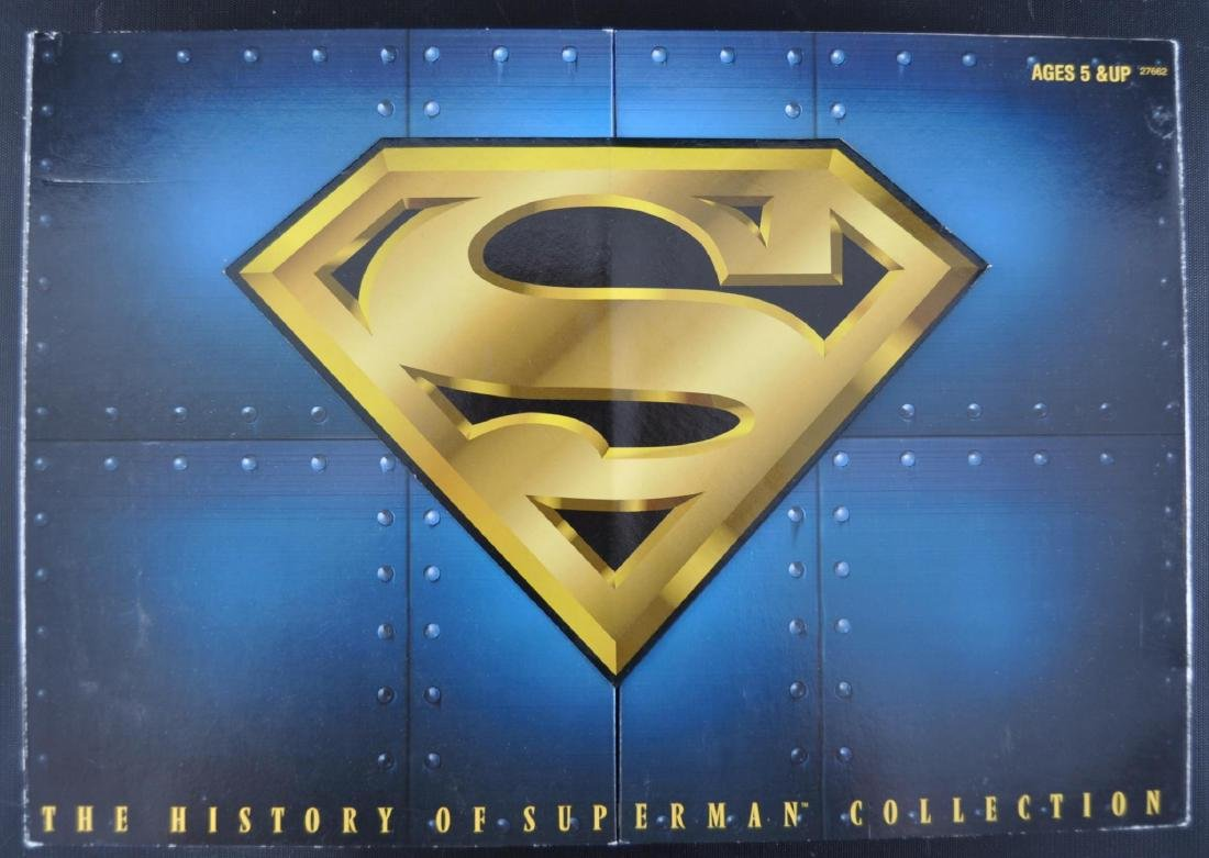 1996 Kenner The History of Superman Action Figure Set