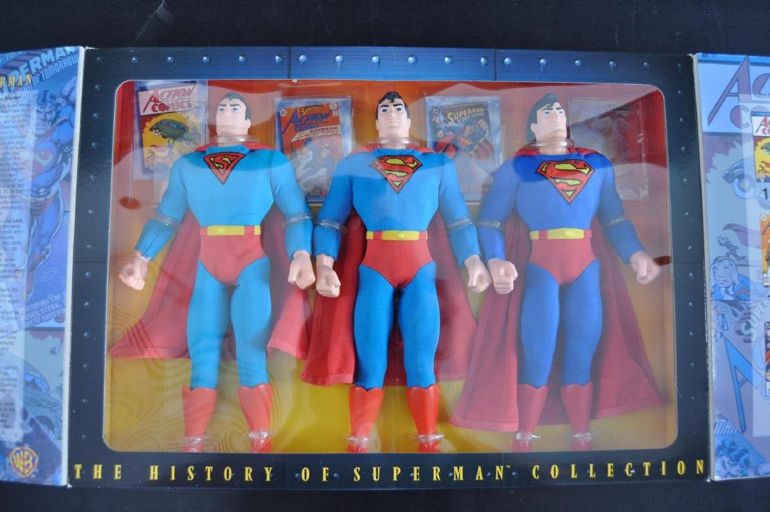 1996 Kenner The History of Superman Action Figure Set - 2
