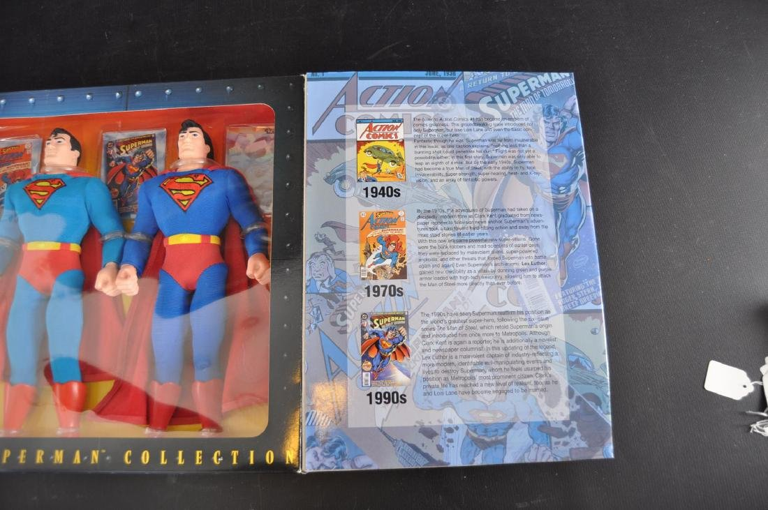 1996 Kenner The History of Superman Action Figure Set - 3