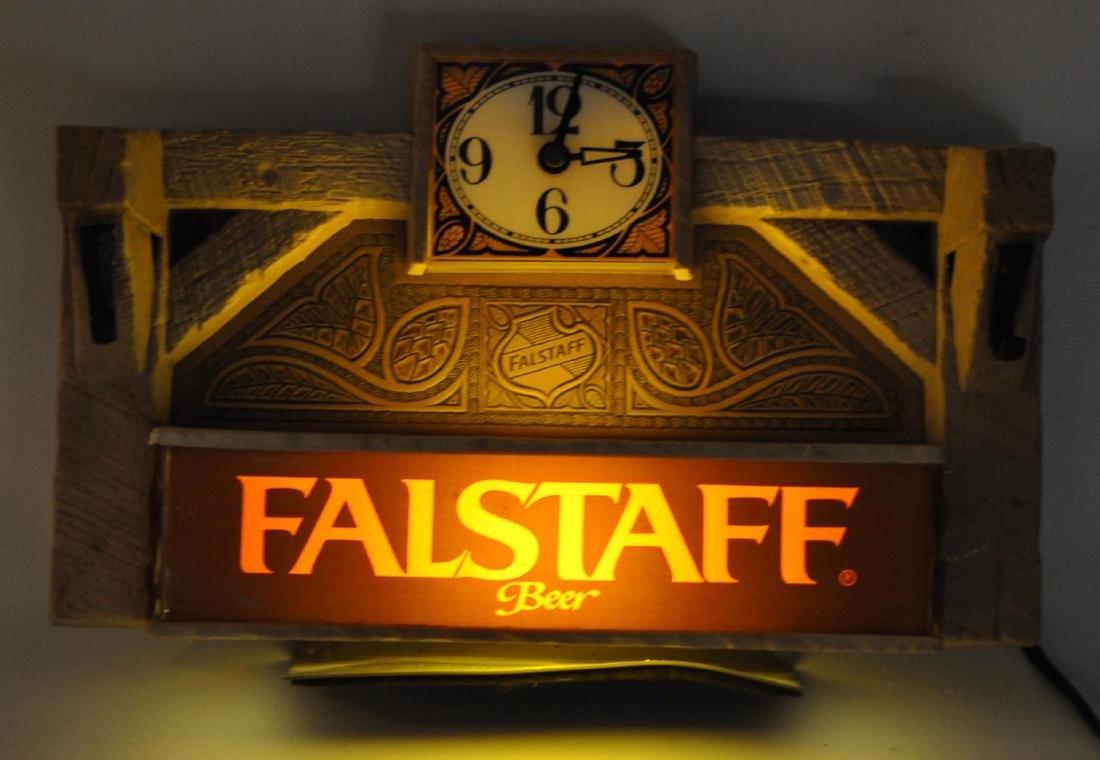 Vintage Falstaff Beer Advertising Cash Register Topper - 2