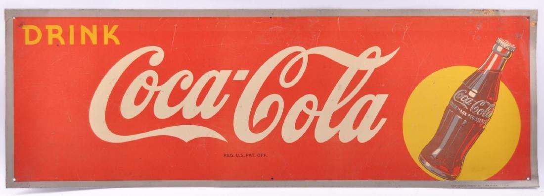 Vintage Coca-Cola Advertising Metal Sign