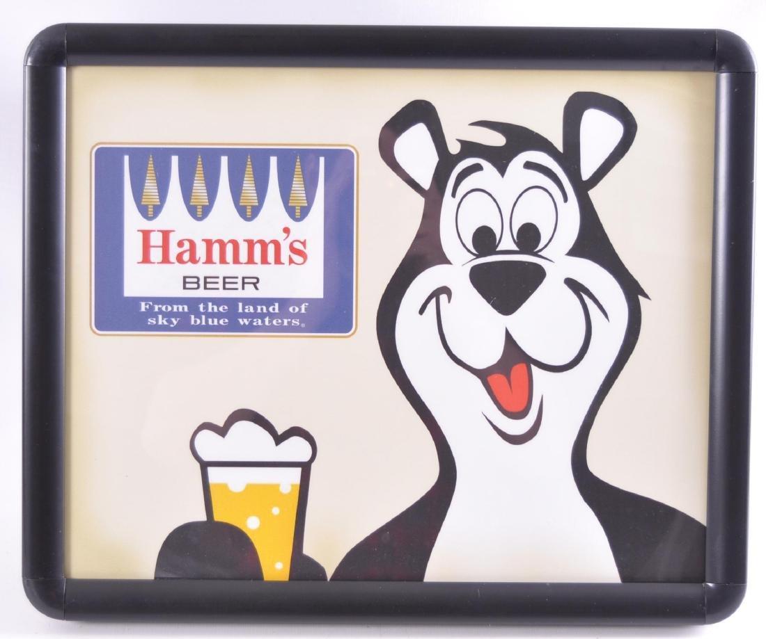 Hamm's Beer Light Up Advertising Sign
