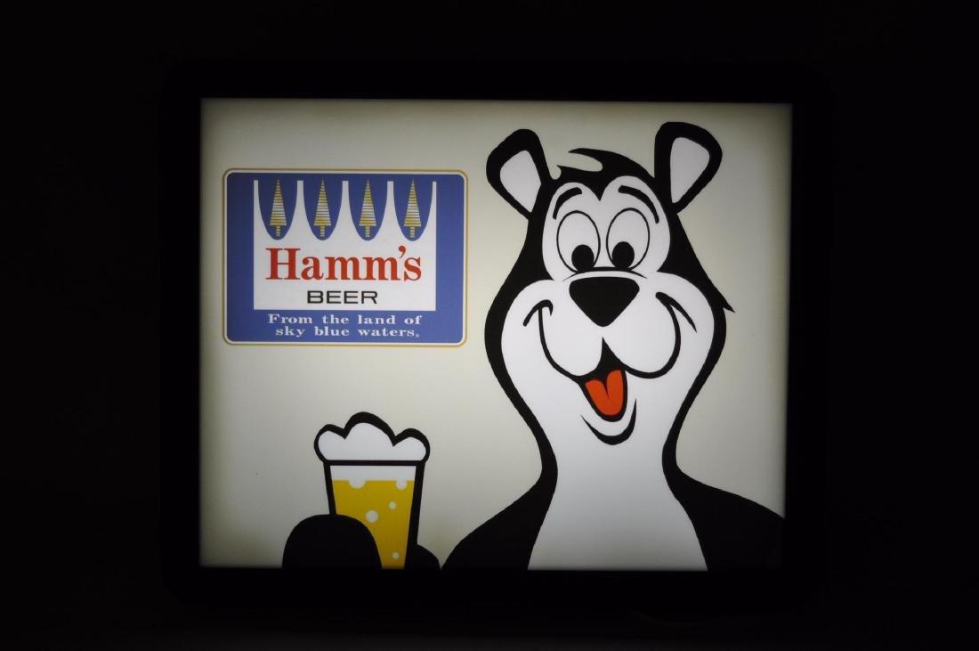 Hamm's Beer Light Up Advertising Sign - 2