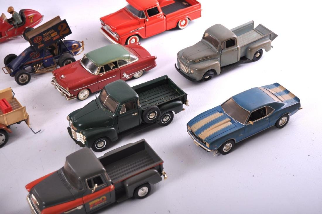 Group of 16 Die-Cast and Plastic Toy Cars - 3