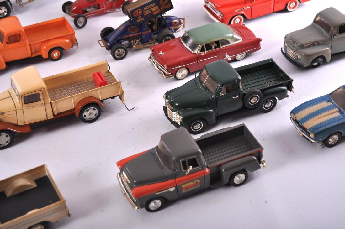 Group of 16 Die-Cast and Plastic Toy Cars - 4