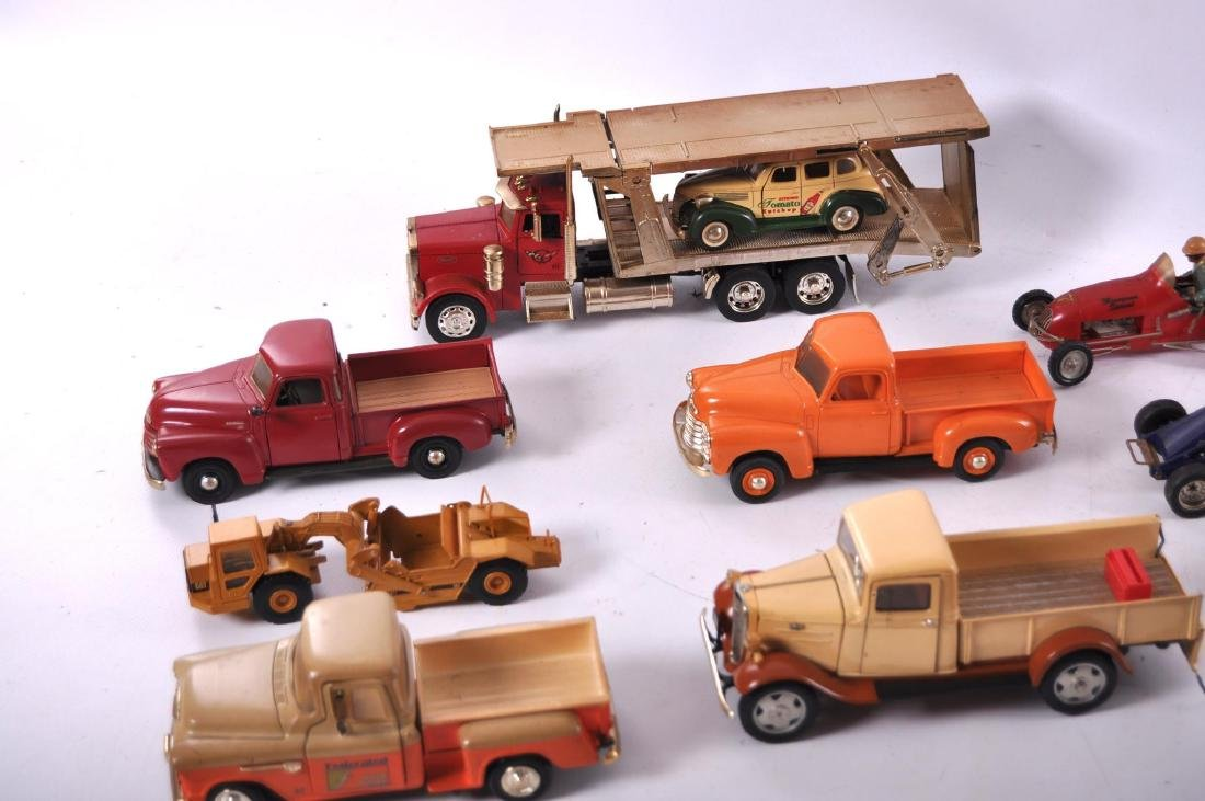 Group of 16 Die-Cast and Plastic Toy Cars - 6