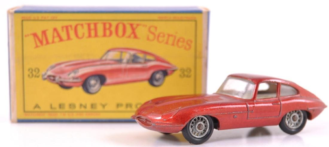 Matchbox No. 32 Jaguar 'E' Type Die-Cast Car with