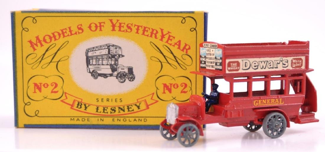 Rare Variation Matchbox Models of Yesteryear No. 2