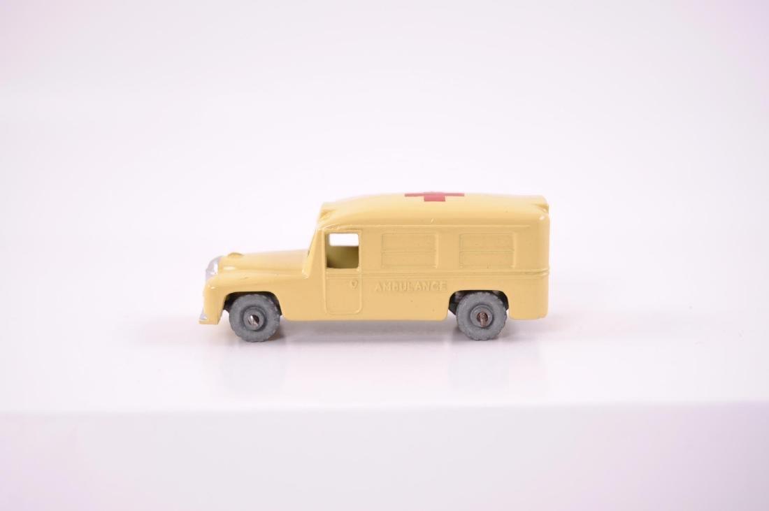 Matchbox No. 14 Daimler Ambulance Die-Cast Car with - 3