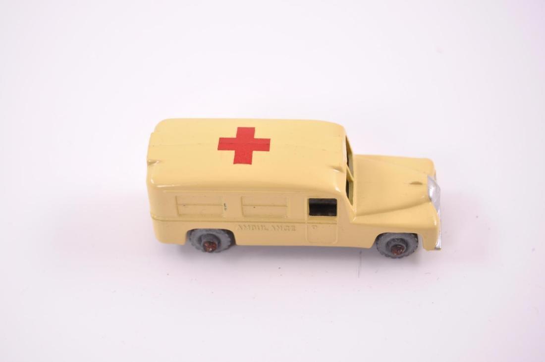 Matchbox No. 14 Daimler Ambulance Die-Cast Car with - 6