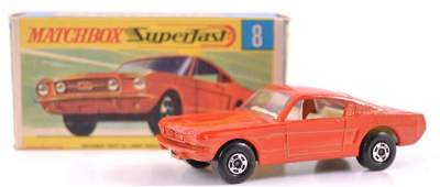 Matchbox Superfast No 8 Ford Mustang DieCast Car with