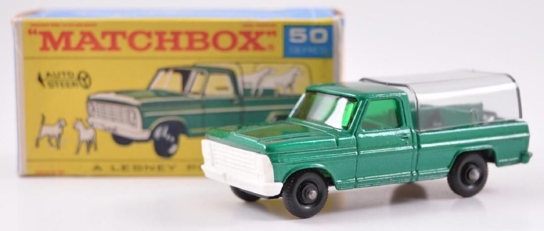 Matchbox No. 50 Kennel Truck Die-Cast Truck with