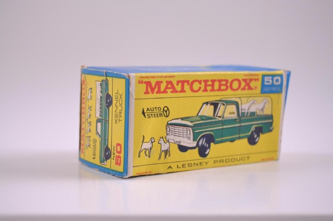 Matchbox No. 50 Kennel Truck Die-Cast Truck with - 8