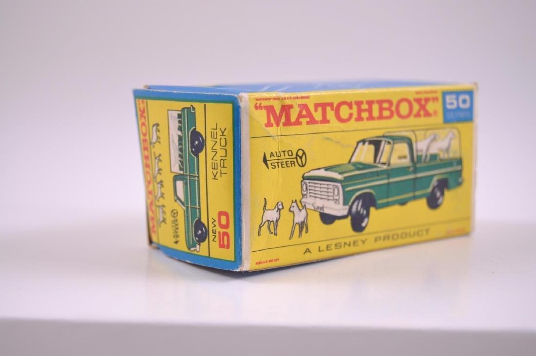 Matchbox No. 50 Kennel Truck Die-Cast Truck with - 9