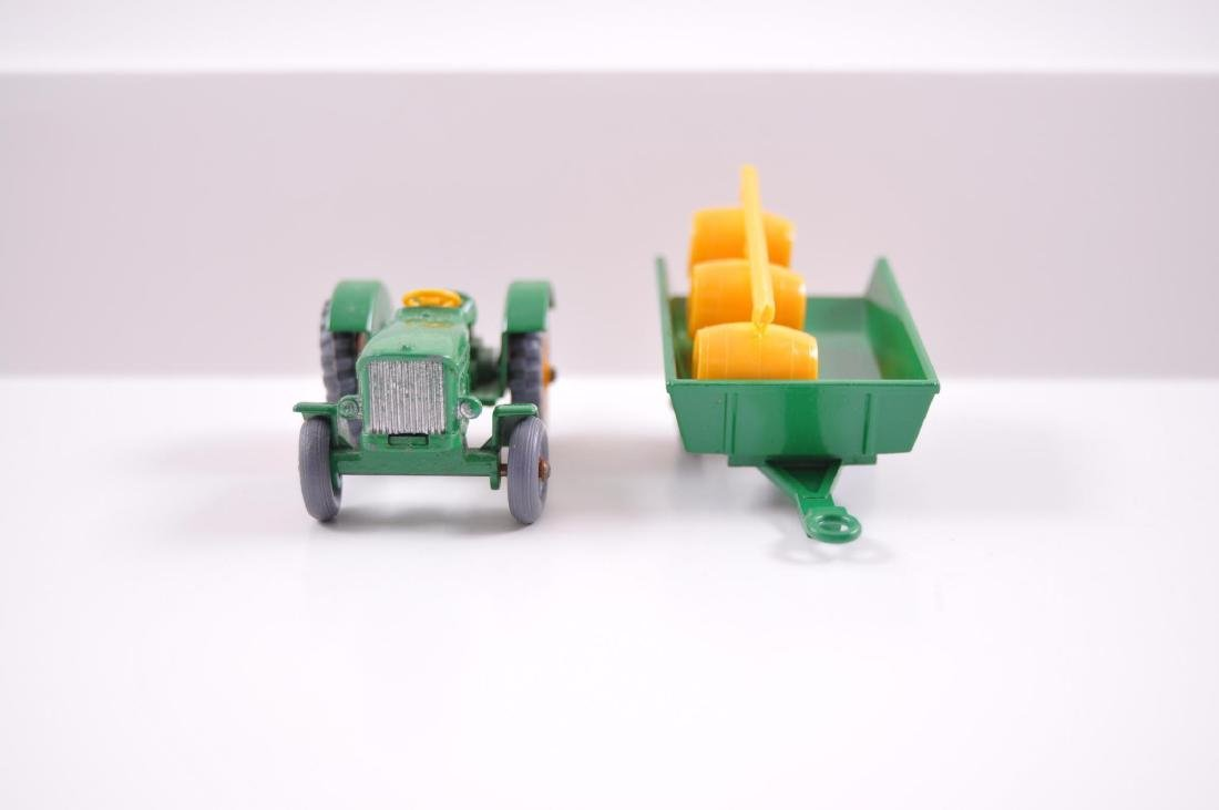 Group of 2 Matchbox Die-Cast Tractor and Trailer with - 2