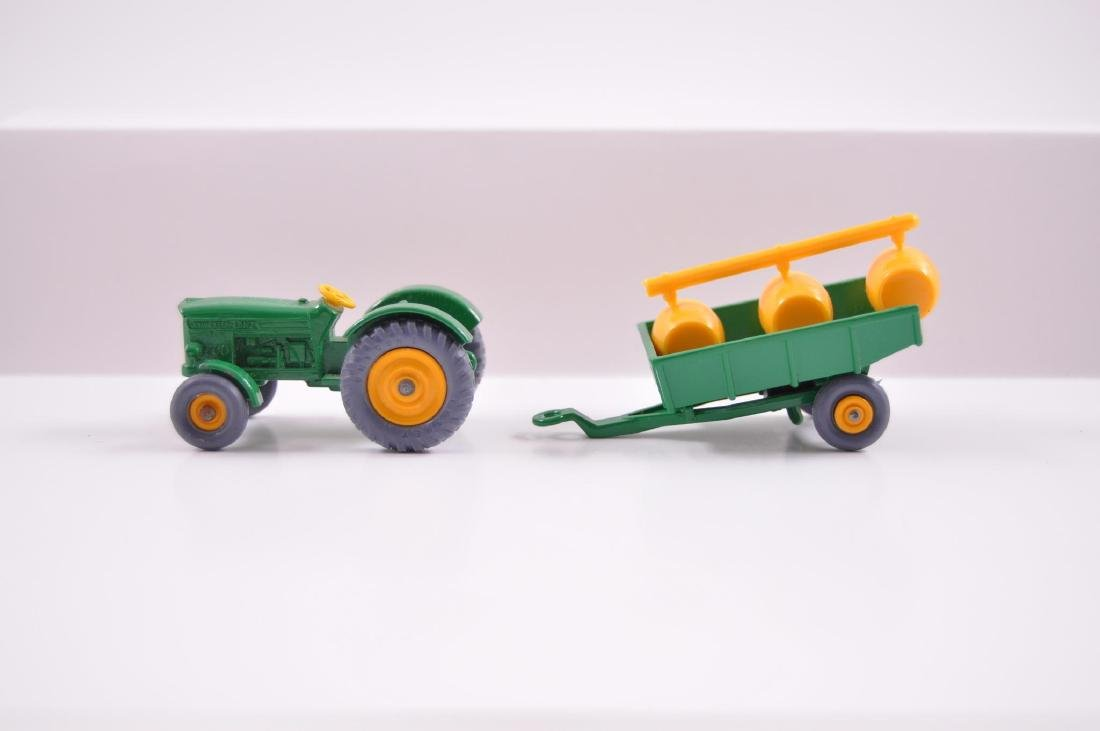 Group of 2 Matchbox Die-Cast Tractor and Trailer with - 3