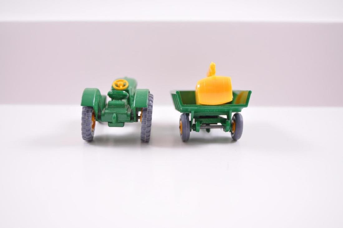 Group of 2 Matchbox Die-Cast Tractor and Trailer with - 4