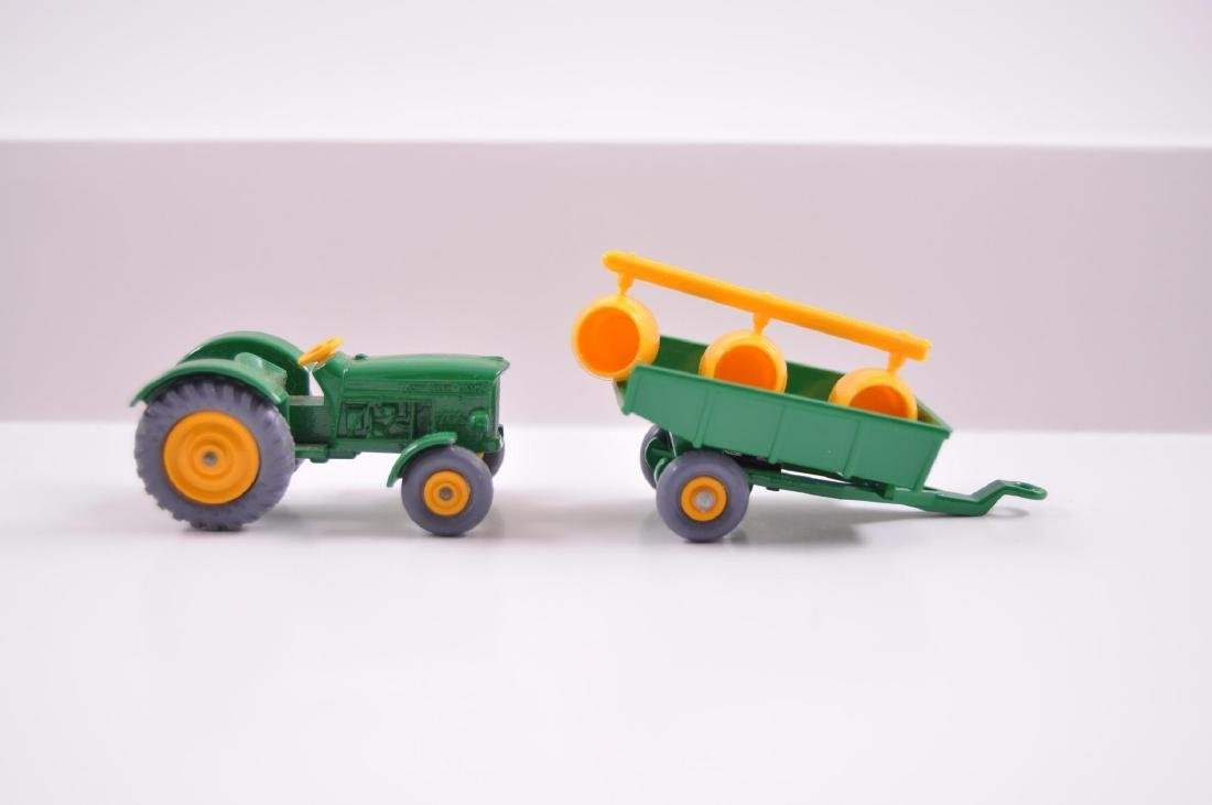 Group of 2 Matchbox Die-Cast Tractor and Trailer with - 5