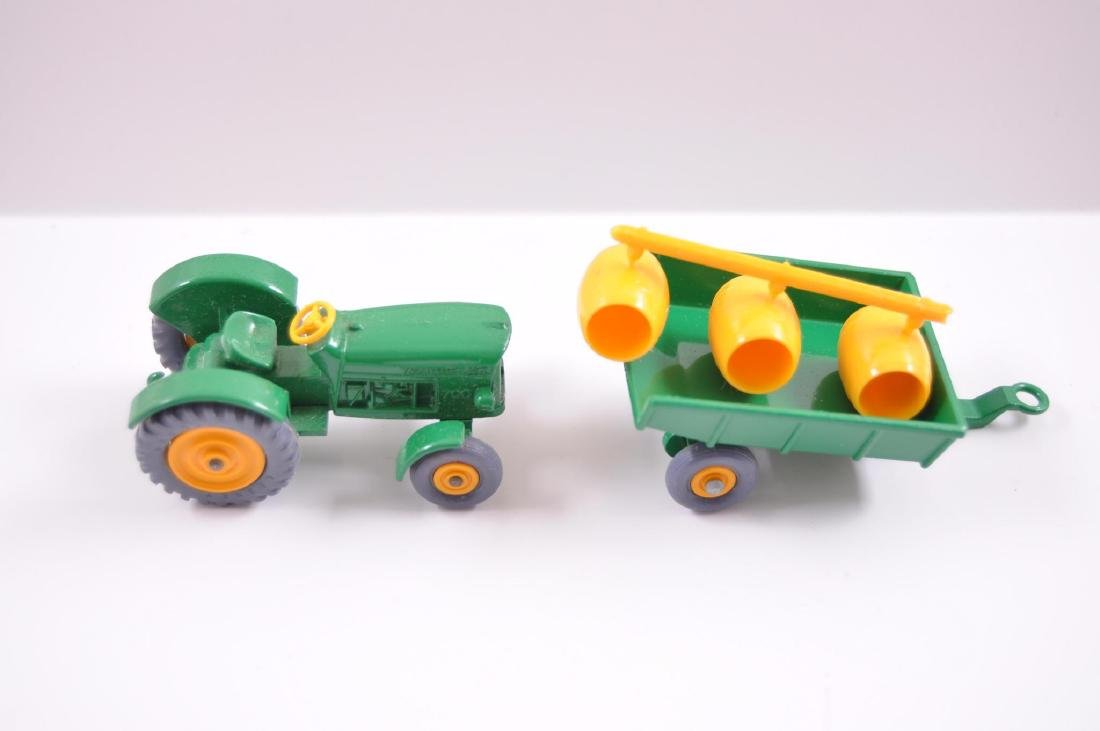 Group of 2 Matchbox Die-Cast Tractor and Trailer with - 6