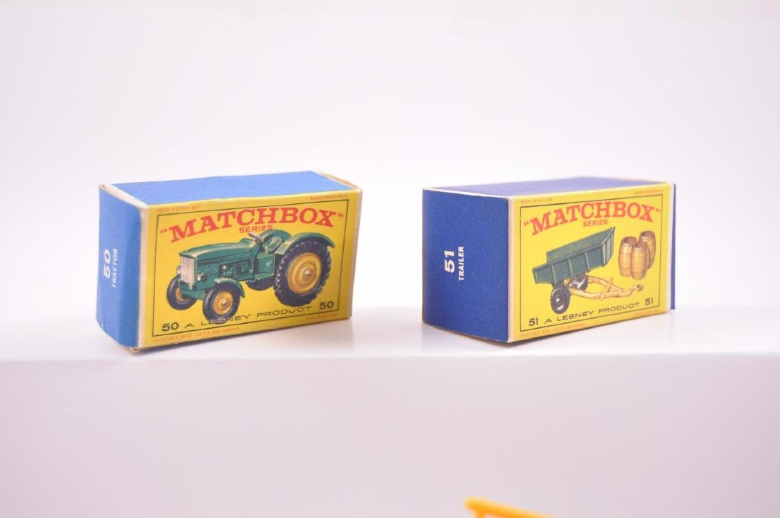 Group of 2 Matchbox Die-Cast Tractor and Trailer with - 7