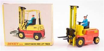 Dinky Toys No. 404 Conveyancer Fork Lift Truck Die-Cast