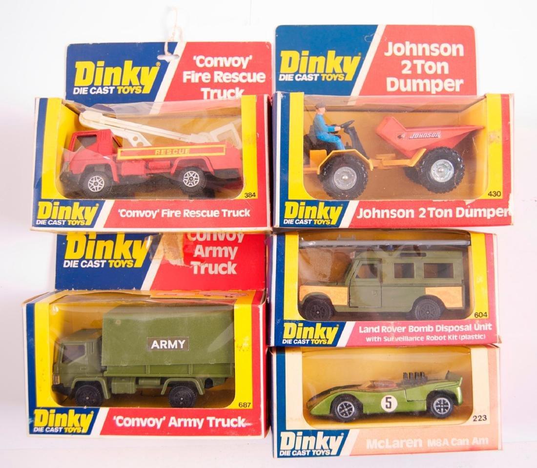 Group of 5 Dinky Toys Die-Cast Vehicles in Original