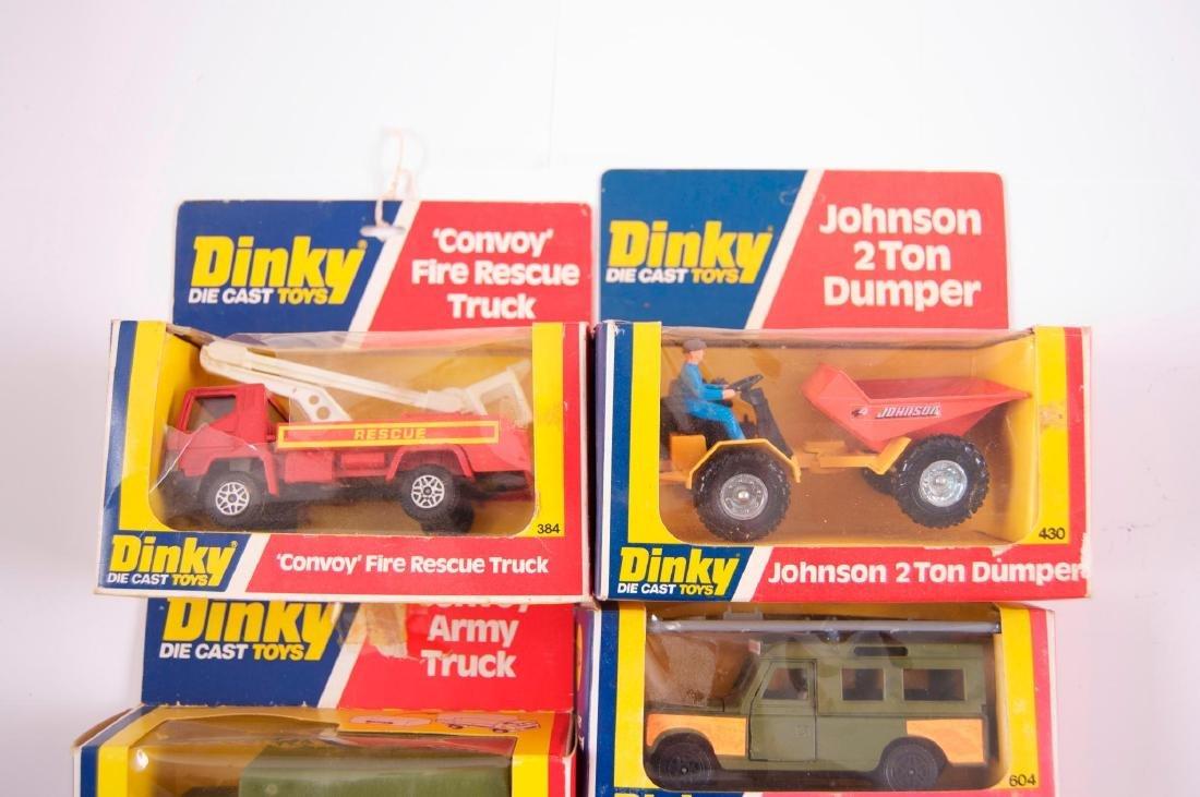 Group of 5 Dinky Toys Die-Cast Vehicles in Original - 2