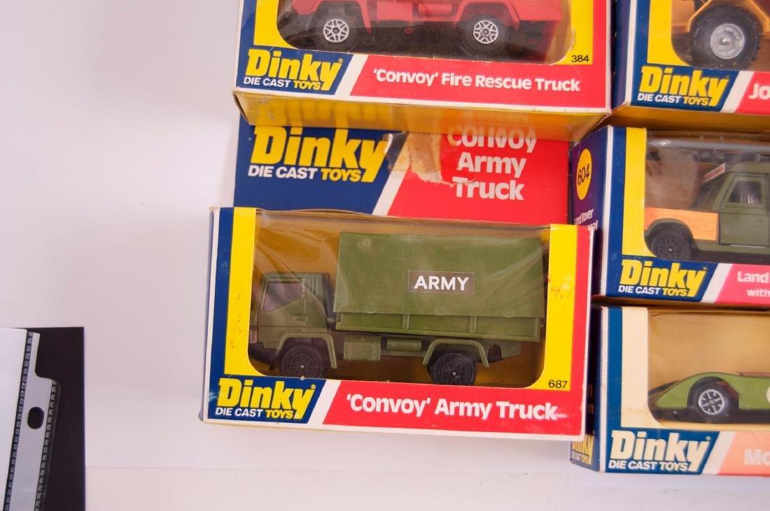 Group of 5 Dinky Toys Die-Cast Vehicles in Original - 4