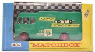 Matchbox King Size K-5 BP Racing-Car Transporter