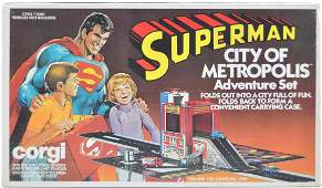 1979 Corgi Toys Superman City of Metropolis Adventure