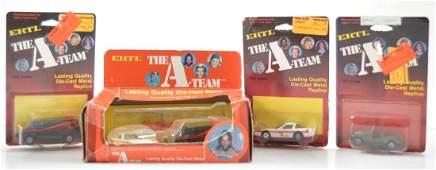 Group of ERTL The ATeam DieCast Vehicles in Original
