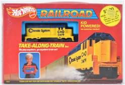 Hot Wheels Railroad Take-Along Train Set in Original