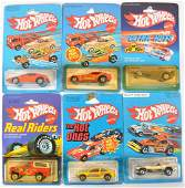 Group of 6 Hot Wheels DieCast Cars in Original