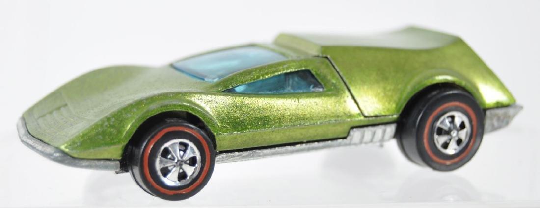 Hot Wheels Redline Lime Green Tri-Baby Die-Cast Car