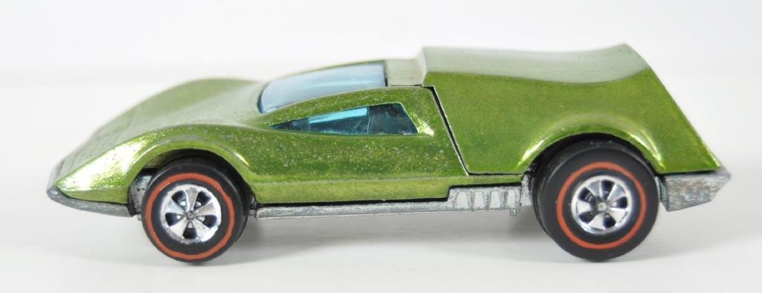 Hot Wheels Redline Lime Green Tri-Baby Die-Cast Car - 3