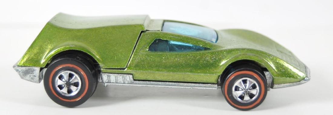 Hot Wheels Redline Lime Green Tri-Baby Die-Cast Car - 5
