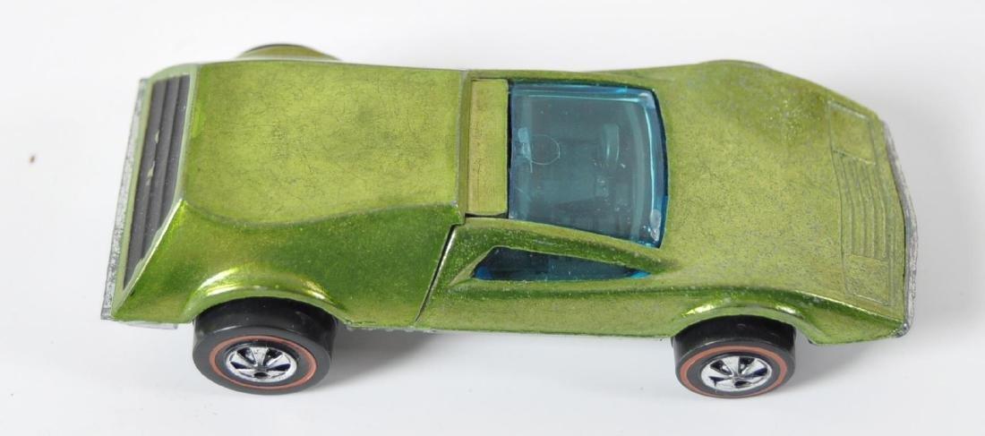 Hot Wheels Redline Lime Green Tri-Baby Die-Cast Car - 6
