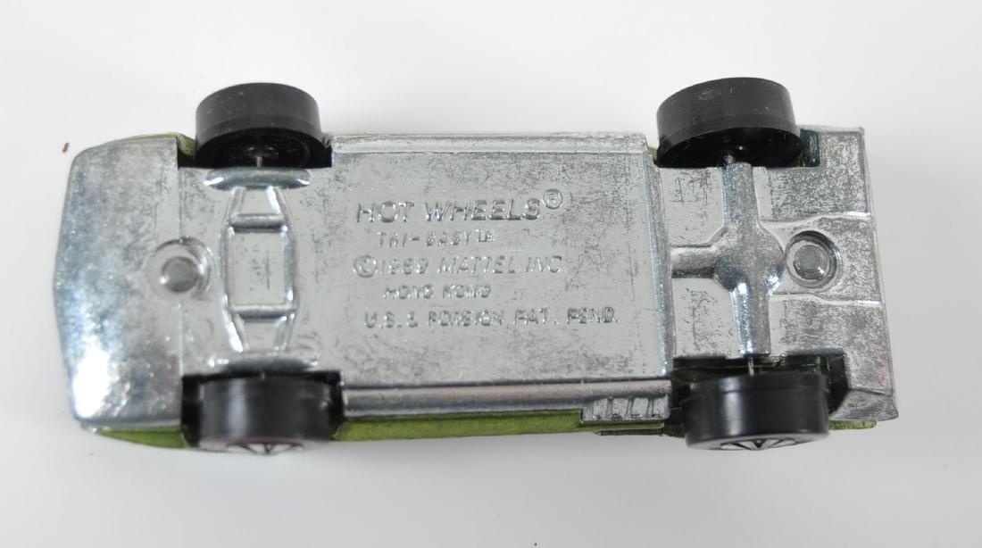 Hot Wheels Redline Lime Green Tri-Baby Die-Cast Car - 7