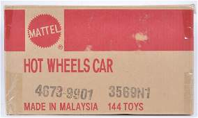 Sealed Shipping Box of Mattel Hot Wheels DieCast Cars
